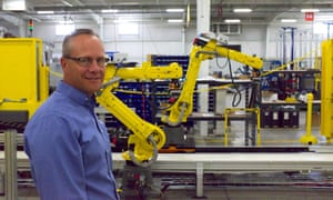 """Robots increase production, but they don't take away people,"" said Tony Nighswander, president of APT Manufacturing Solutions."