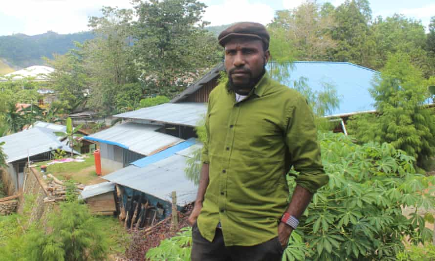 Victor Yeimo, from the West Papua National Committee