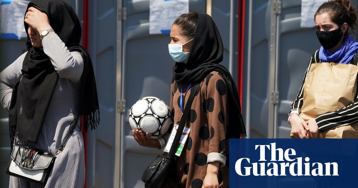 'This is our final': the team who led athletes' escape from Afghanistan