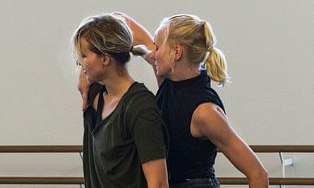 Exploring physical borders … Rambert rehearse Flight.