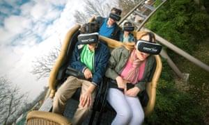 Pegasus rollercoaster, EuropaPark, Germany.