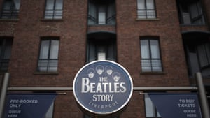 The entrance to the Beatles Story at Liverpool's Albert Dock