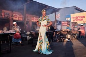 Second prize, portraits, singles | Black Drag Magic - Portrait of a Drag Artist and Activist | Lee-Ann Olwage, South Africa