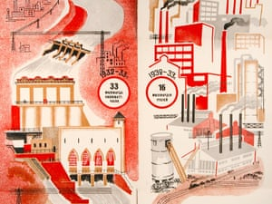 Aleksei Laptev's illustrations for The Five Year Plan.