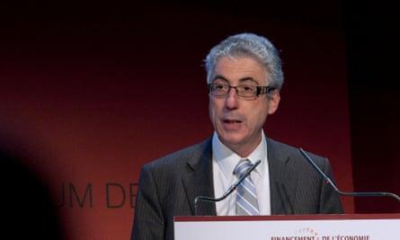 Jonathan Faull speaks during the Autorité des Marchés Financiers (AMF) annual conference 2012 in Paris, France