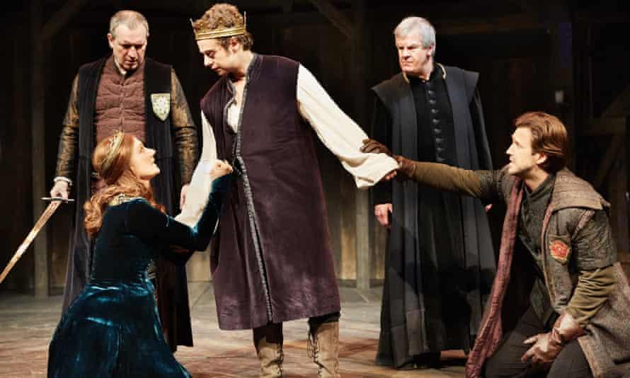 Joely Richardson as Margaret of Anjou, Alex Waldmann as Henry VI and Michael Xavier as Suffolk.