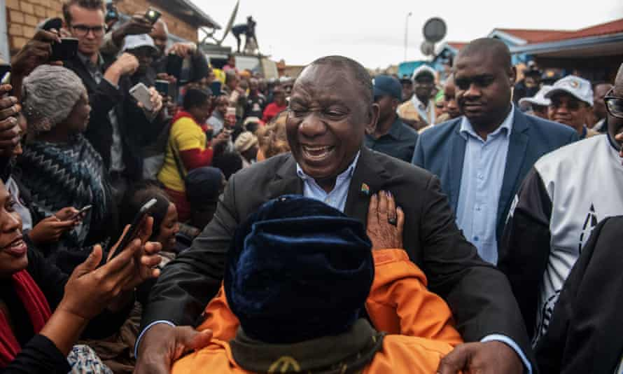 South Africa's president Cyril Ramaphosa