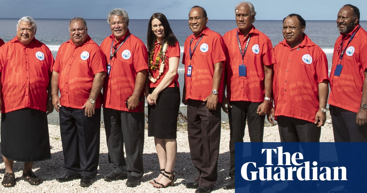 Australia signs declaration saying climate change 'single greatest threat' to Pacific