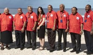 Leaders at the Pacific Islands Forum in Nauru