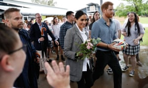Prince Harry and Meghan visit students from Dubbo College's senior campus