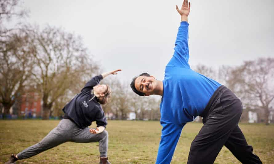 Simran Uppal, right, practises in London Fields. They say 'the majority of teachers I know are struggling to get by on poverty pay'.