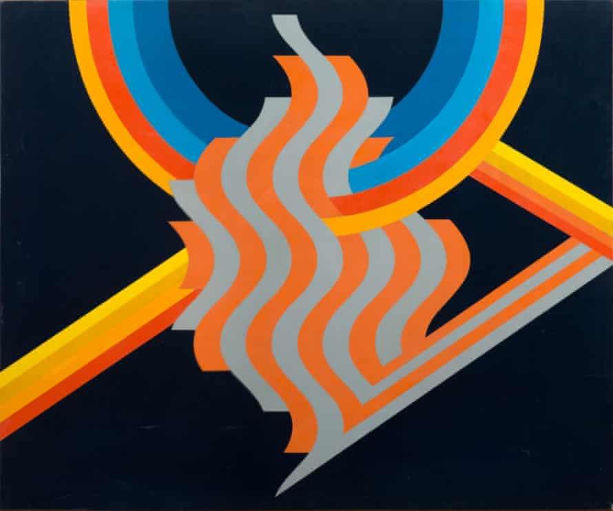 Untitled, 1975, by Mohamed Melehi.