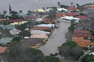 The 'once in a century' flooding in Townsville