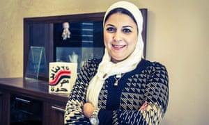 Esraa Abdel Fattah, nominated for a Nobel peace prize.