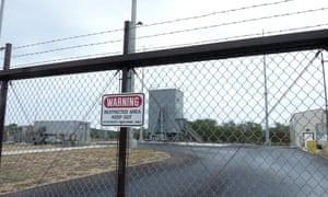 The Aegis Ashore Missile Defense Test Complex at the Pacific Missile Range Facility on Kauai.