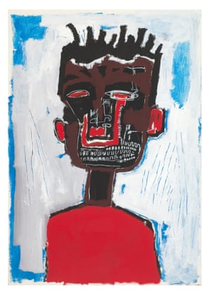 Basquiat's Self-Portrait, 1984.