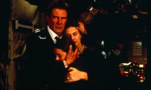 Harrison Ford, Wendy Crewson and Liesel Matthews in Air Force One.