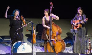 Eliza Carthy, Jenny Hill and Jenn Butterworth perform Songs of Separation for Celtic Connections in Glasgow.