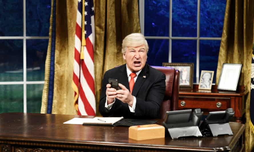 'It's kind of a gallery of monsters. Where do they come from, this malignant class of public servant?: as Trump on Saturday Night Live.