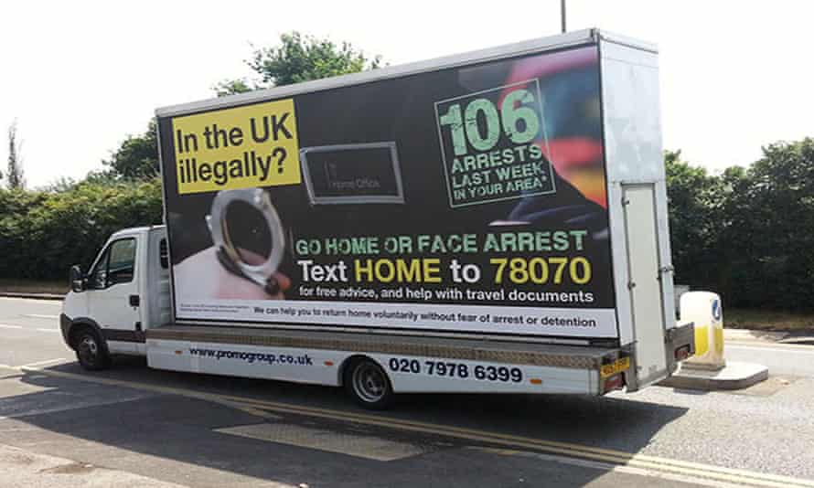 """'You feel acutely the hostility of the Home Office's """"cruel and inhumane"""" immigration policy.'"""