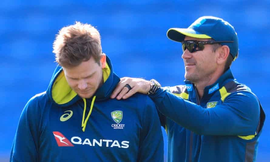 Steve Smith and Justin Langer