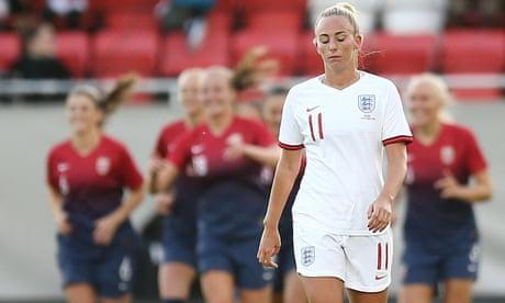 Norway 2-1 England: women's international friendly – as it happened