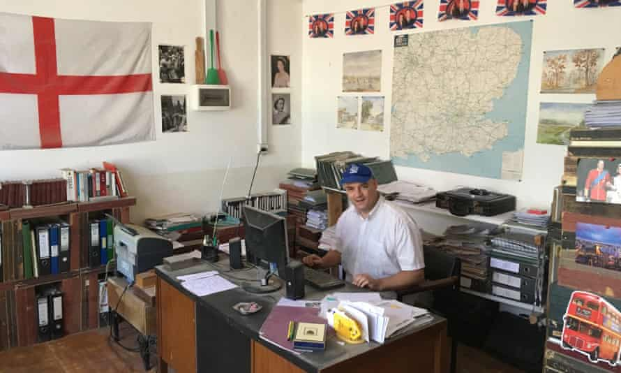 Paul Marchant in his office