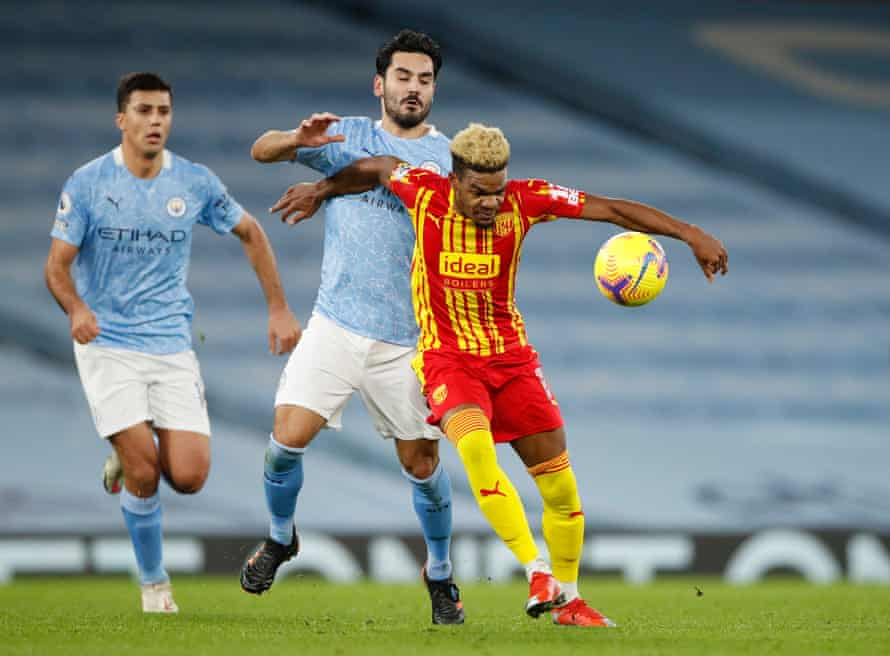 Manchester City could only draw 1-1 with West Bromwich Albion in December but the game has helped to transform their season.