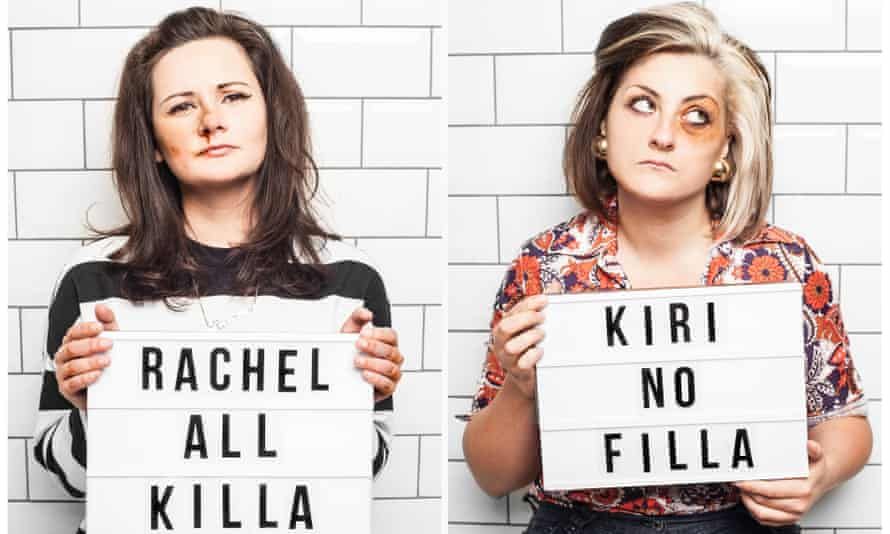 Rachel Fairburn and Kiri Pritchard-McLean.