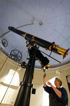 Seeing stars: the main telescope has been refurbished.