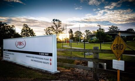 A JBS facility at Dinmore, west of Brisbane, Australia
