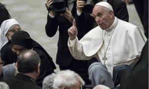 Pope Francis has warned nuns and priests against spreading gossip.