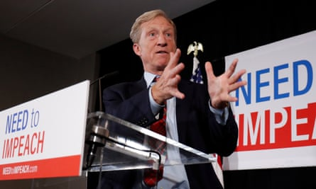 Steyer's bid has drawn comparisons to billionaire ex-Starbucks CEO Howard Schultz, whose flirtation with a White House run was derided as a wasteful vanity project.