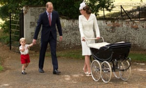 The Duke and Duchess of Cambridge, with Prince George and Princess Charlotte, do not face the pressures of ordinary people.
