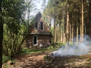 Unique category, John Moore (Northern Ireland) with Instant Karma Clearly a labour of love, the Scandinavian inspired shed is housed in a forest. It took 15 years to build using whole logs, with entire trees felled and seasoned for two years before building began. Highly insulated for year-round use, it has 3G coverage and minimalistic furnishings. A briefcase generator powers the shed and a log-burning stove produces hot water