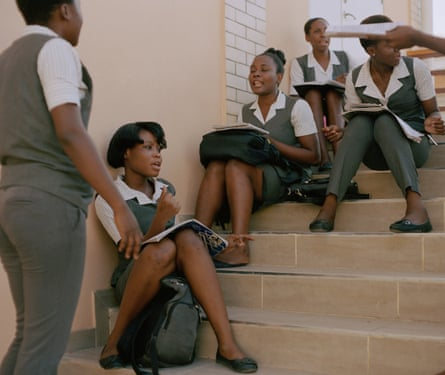 Students at the midwifery school in Port-au-Prince; the city was devastated by an earthquake in 2010, and cholera a year later.
