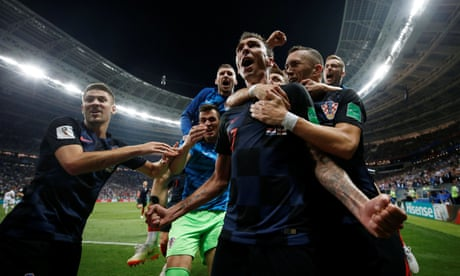 England's World Cup dream dashed as Croatia win semi-final in extra-time