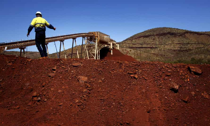 The Fortescue Solomon iron ore mine located in the Valley of the Kings. Shares in Fortescue Metals Group jumped 9% in one day this week, boosted by a report that China's Hebei Iron & Steel Group and Tewoo Group could invest in its infrastructure and mining assets.