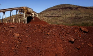 Lower prices for iron ore, coal and natural gas are a big factor in the falling terms of trade.