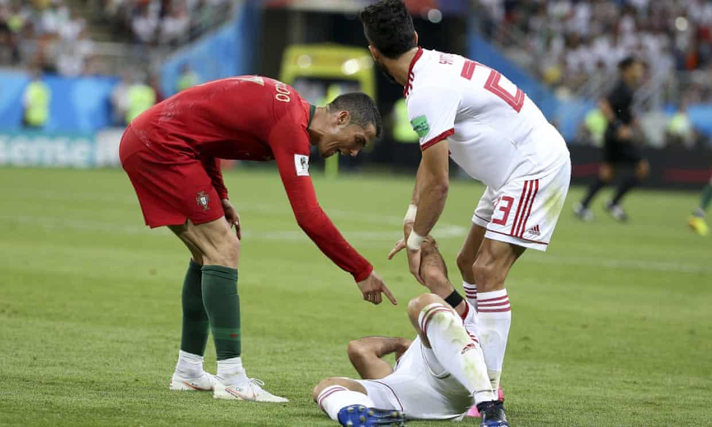 Morteza Pouraliganji and Ronaldo
