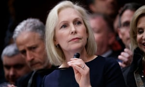 Kirsten Gillibrand, the Democratic senator from New York, will deliver a speech at Trump hotel in New York on Sunday.