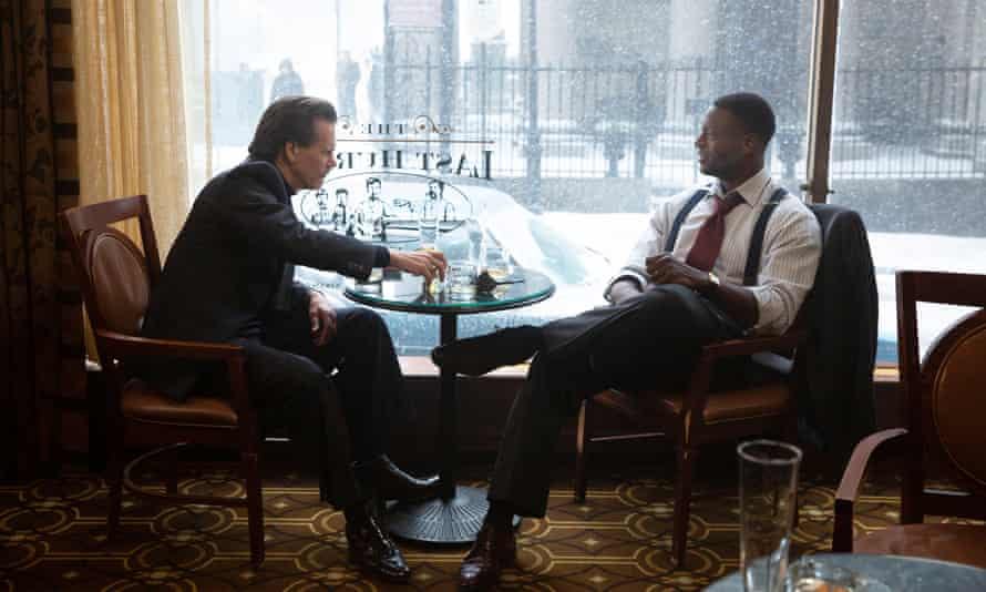 Kevin Bacon and Aldis Hodge team up to fight Boston's crime epidemic in City On A Hill.