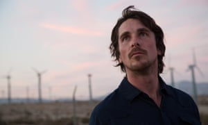 Christian Bale in Knight of Cups.