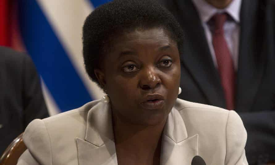 Cécile Kyenge in 2013