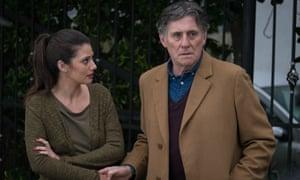 Sibylla Deen and Gabriel Byrne in Lies We Tell