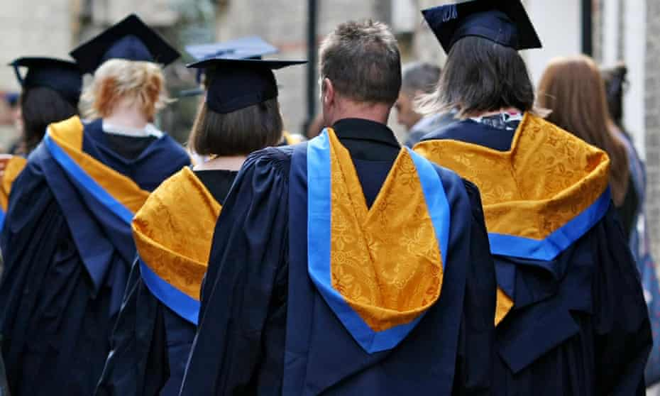 There is concern at plans for 'a shot of entrepreneurial vim' at Britain's universities.