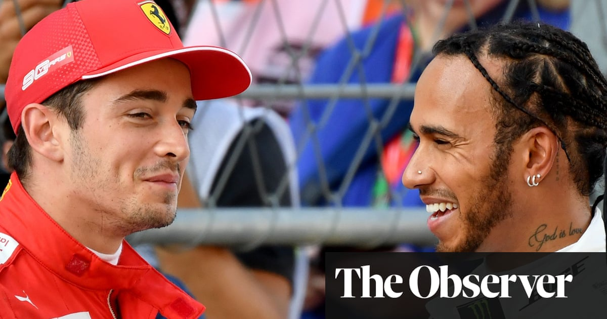 Charles Leclerc dominates Lewis Hamilton to take Russian F1 GP pole