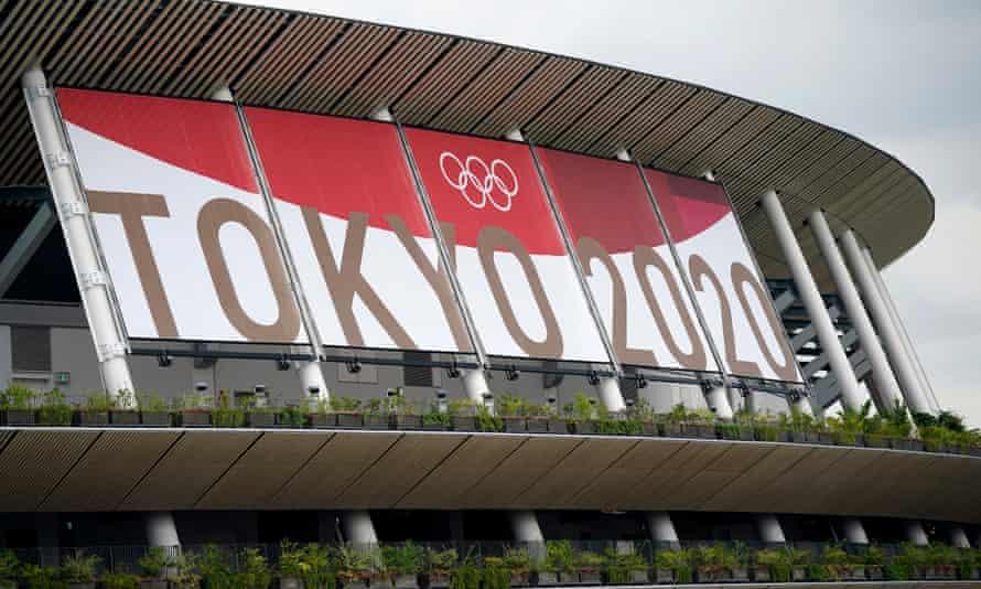 Tokyo Olympics main stadium.