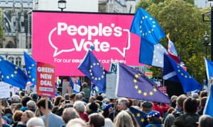 People's Vote protest march