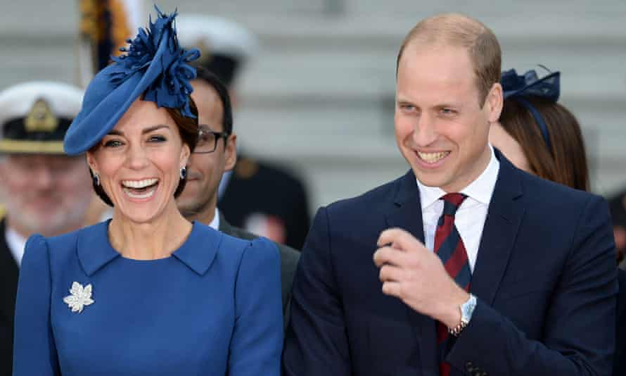 The Duke and Duchess of Cambridge arrive in Canada.